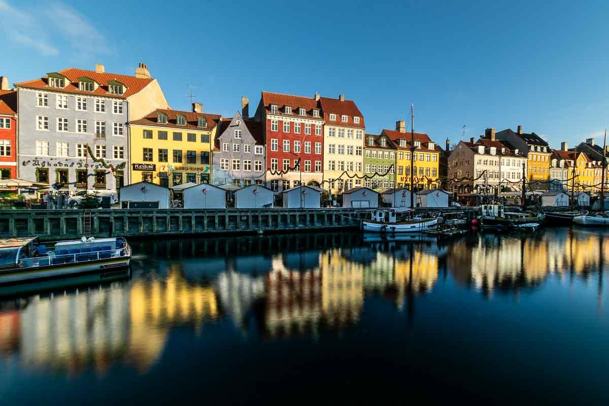 Copenaghen Nyhavn case riflesse