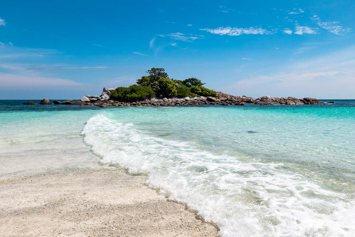 Raya Noi isola e onda