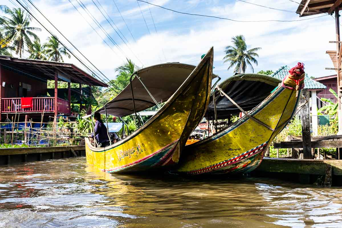 Escursioni a Bangkok Floating Market
