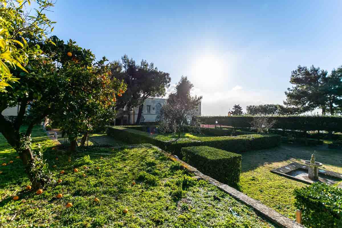 Dove dormire a Napoli Casa Tolentino giardino