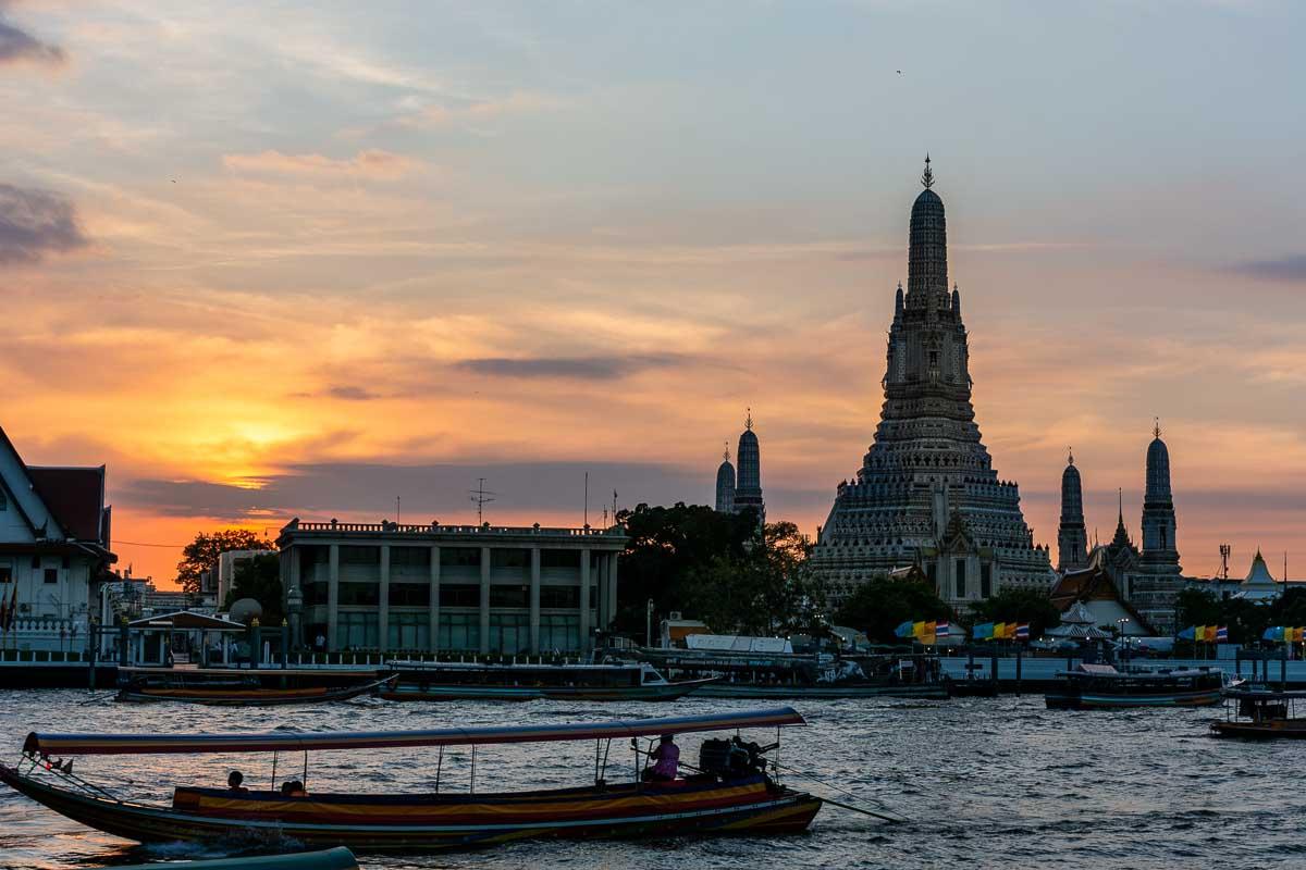 Le meraviglie di Bangkok Wat Arun