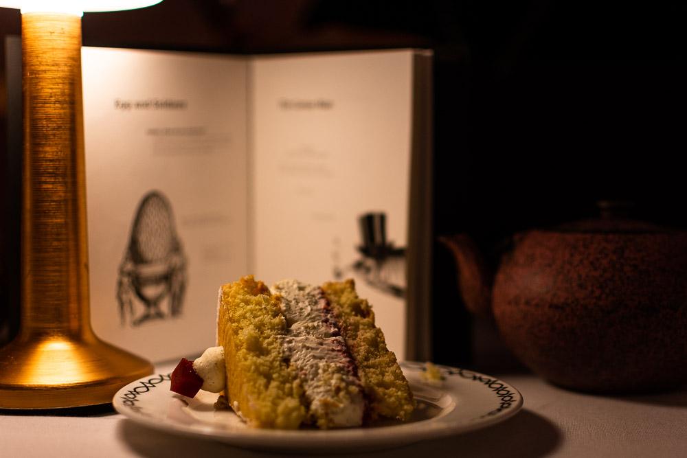 Dove mangiare a Londra Sketch torta